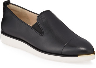 Cole Haan Grand Ambition Leather Slip-On Loafers