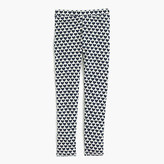 J.Crew Girls' everyday leggings in allover hearts