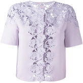 Giambattista Valli lace trim top