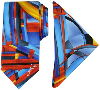 Men's Jerry Garcia Tie & Pocket Square Set
