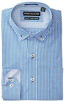 Report Collection Gingham Slim Fit Dress Shirt