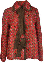 Marco De Vincenzo Panno Twill Tweed Jacket