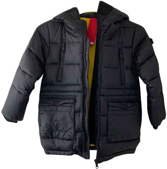 AI Riders On The Storm Black Synthetic Jackets & Coats