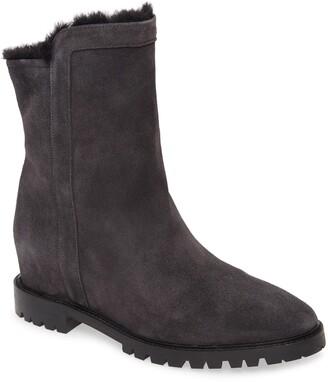 Aquatalia Cate Faux Fur Lined Weatherproof Leather Boot