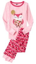 Crazy 8 Owl 2-Piece Pajama Set