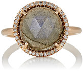 Irene Neuwirth Women's White Diamond & Labradorite Ring