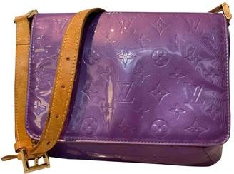 Louis Vuitton Thompson Purple Patent leather Handbags