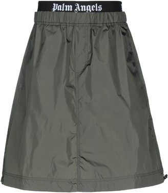 Palm Angels Knee length skirts
