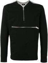 Diesel zip detail sweatshirt