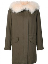 Yves Salomon Classic Parka With Fox Fur