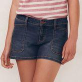 Lauren Conrad Women's Faded Jean Shorts