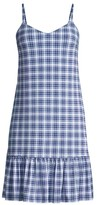 MICHAEL Michael Kors Glam Plaid Slip Dress