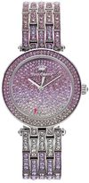 Juicy Couture Women's Victoria Crystal Stainless Steel Watch - 1901321