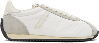 RE/DONE White 70s Runner Sneakers