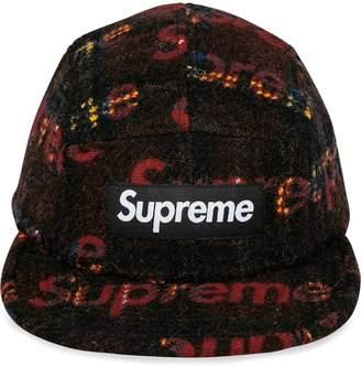 Supreme tweed camp cap