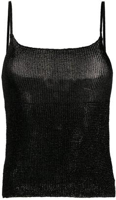 Laneus Knitted Sleeveless Top