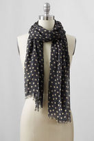 Lands' End Women's Dot Scarf