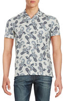 Ben Sherman Paisley Cotton Sportshirt