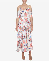 CeCe Cold-Shoulder Maxi Dress
