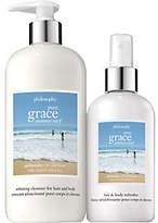 philosophy Pure Grace Summer Surf Hair & Body Set