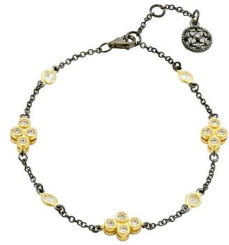 Freida Rothman Clover Station Bracelet
