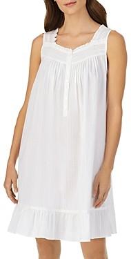Eileen West Striped Sleeveless Short Gown