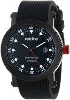 Redline red line Men's RL-18000-01-BBWSET Compressor Dial Silicone Watch