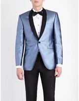 Richard James Steel Glitter Woven Dinner Jacket