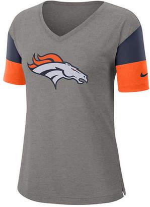 Nike Women Denver Broncos Tri-Fan T-Shirt