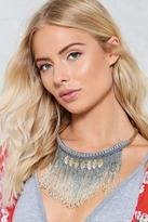 Nasty Gal Bring It Ombre Necklace