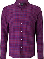 John Lewis Gingham Oxford Shirt