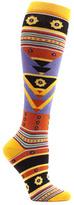 Ozone Women's Tribal Triangles Knee High Socks