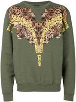 Marcelo Burlon County of Milan Tepenk crewneck sweatshirt - men - Cotton - S