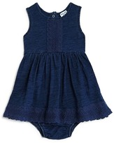 Splendid Infant Girls' Lace Trimmed Dress & Bloomers Set - Sizes 3-24 Months