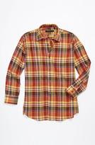 John Varvatos Check Woven Shirt (Big Boys)