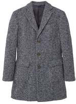 Tweed Wool Coat