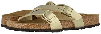 Birkenstock Yao (Black Birko-Flor) Women's Sandals