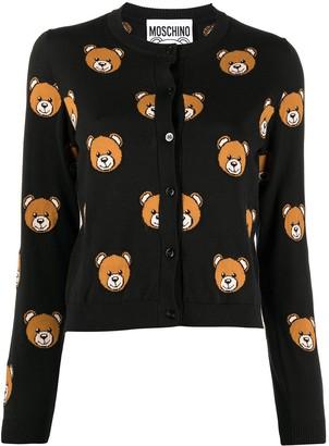 Moschino Bear-Motif Cardigan