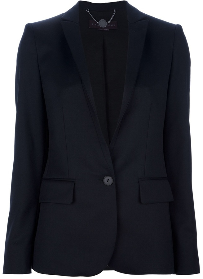 Stella McCartney single button blazer