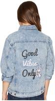 Brigitte Bailey Galiot Denim Jacket Women's Coat