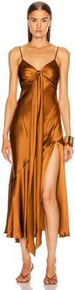 Nicholas Sabine Dress in Bronze | FWRD