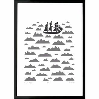 Lu West Antarctic Voyage Screen Print