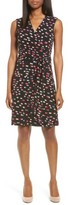 Vince Camuto Women's Abstractions Print Wrap Dress