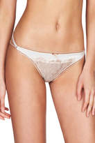 Pleasure State NEW 'Patience Fleming' Mini Brief P30-2358W Pale Pink