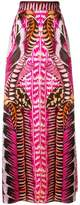 Temperley London Garden Leaf maxi skirt