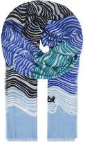 Diane von Furstenberg Kenley cashmere scarf