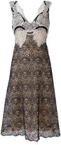 Ermanno Scervino V-neck lace dress - women - Silk/Polyamide - 46