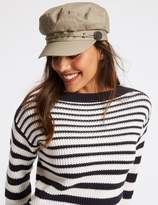 Marks and Spencer Pure Cotton Baker Boy Hat