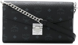 MCM Monogram-Print Shoulder Bag