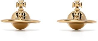 Vivienne Westwood solida Orb stud earrings